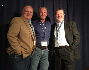 Tim O'Rourke, Mark Gillespie and Jim Casteel (L to R)